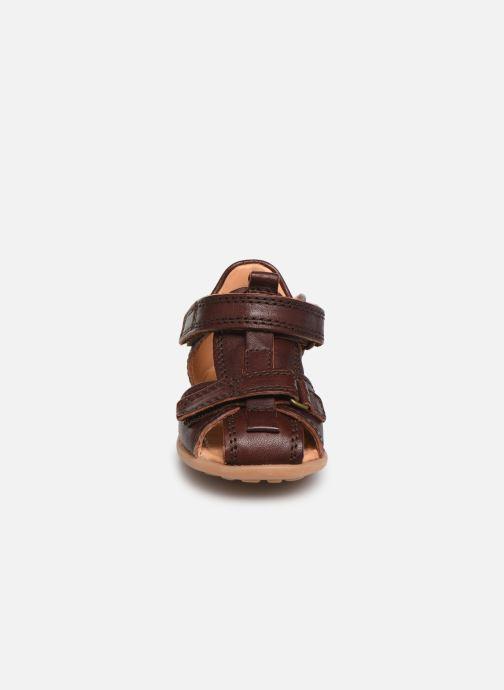Sandales et nu-pieds Bisgaard Svan Marron vue portées chaussures