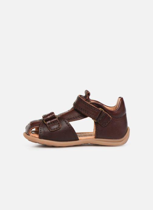 Sandales et nu-pieds Bisgaard Svan Marron vue face