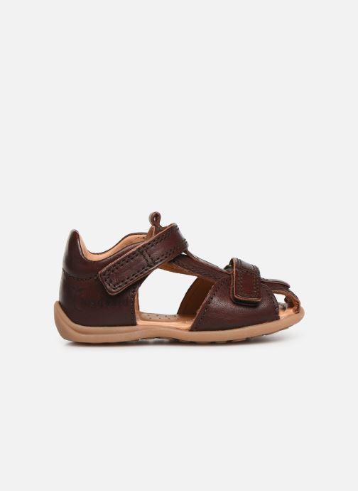 Sandales et nu-pieds Bisgaard Svan Marron vue derrière