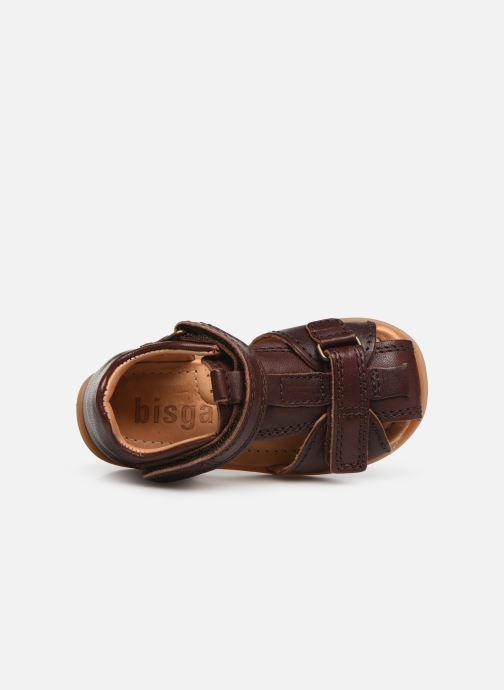 Sandales et nu-pieds Bisgaard Svan Marron vue gauche