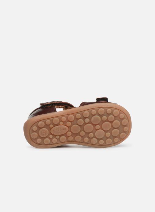 Sandales et nu-pieds Bisgaard Svan Marron vue haut
