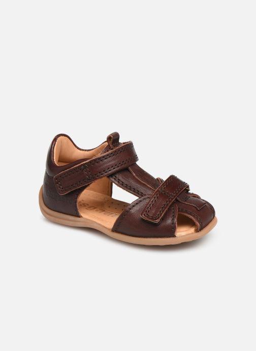 Sandales et nu-pieds Bisgaard Svan Marron vue détail/paire