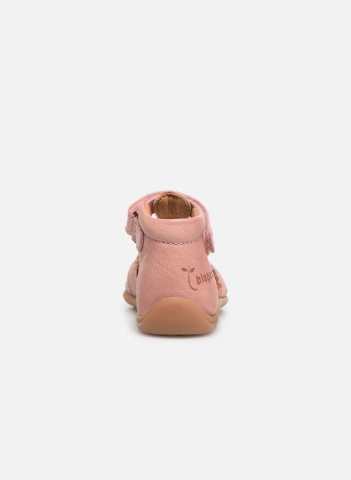 Sandali e scarpe aperte Bisgaard Beata Rosa immagine destra