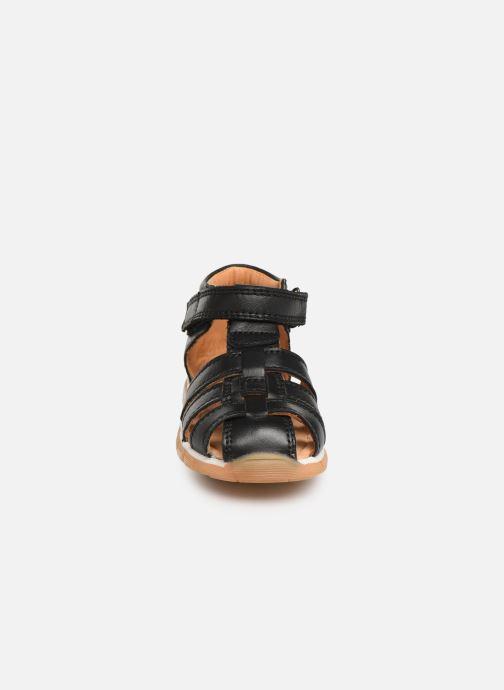 Sandales et nu-pieds Bisgaard Sigmar Noir vue portées chaussures