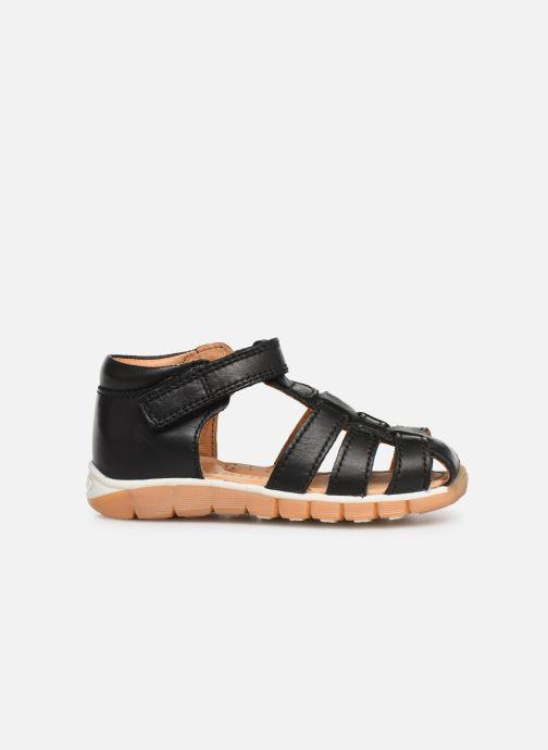 Sandales et nu-pieds Bisgaard Sigmar Noir vue derrière