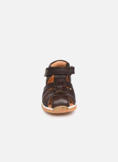 Sandales et nu-pieds Bisgaard Sigmar Marron vue portées chaussures