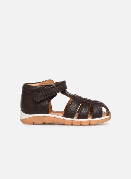 Sandales et nu-pieds Bisgaard Sigmar Marron vue derrière