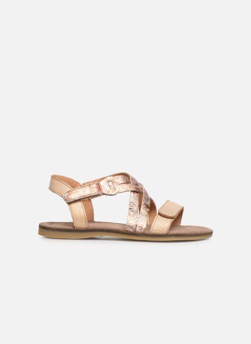 Sandales et nu-pieds Bisgaard Elisabeth Or et bronze vue derrière