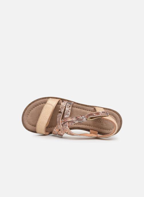 Sandales et nu-pieds Bisgaard Elisabeth Or et bronze vue gauche