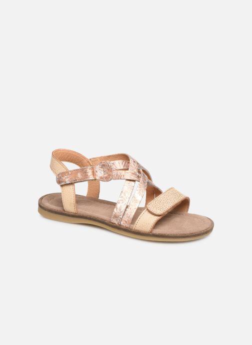 Sandales et nu-pieds Bisgaard Barbara Or et bronze vue détail/paire