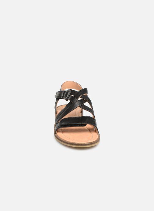Sandales et nu-pieds Bisgaard Barbara Noir vue portées chaussures