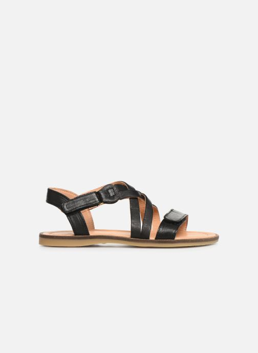 Sandales et nu-pieds Bisgaard Barbara Noir vue derrière