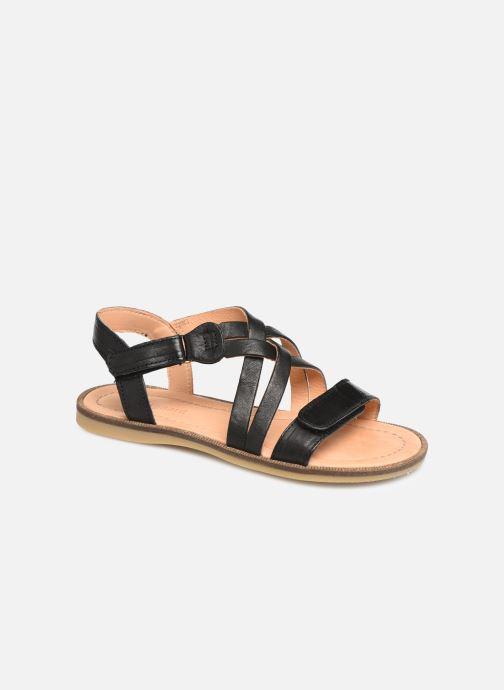 Sandales et nu-pieds Bisgaard Barbara Noir vue détail/paire