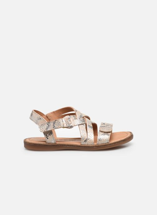 Sandali e scarpe aperte Bisgaard Barbara Argento immagine posteriore