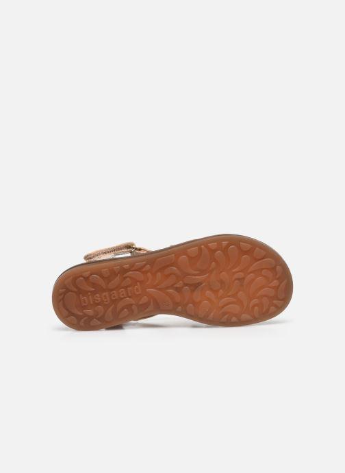 Sandales et nu-pieds Bisgaard Barbara Argent vue haut