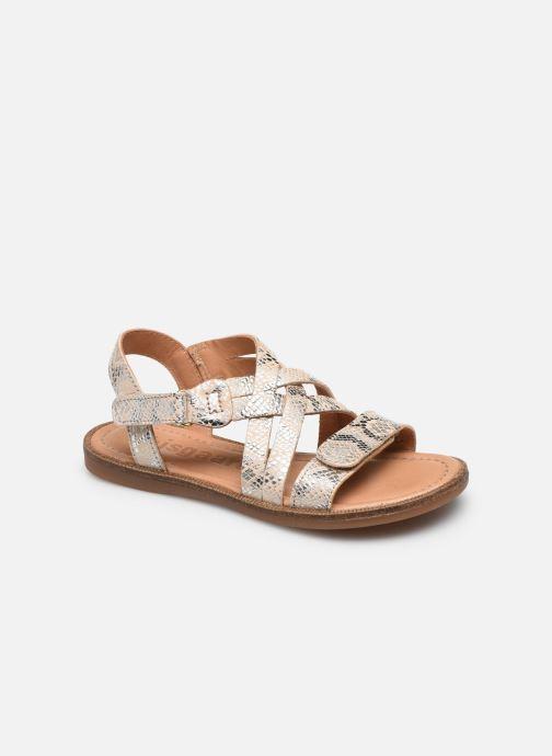 Sandales et nu-pieds Bisgaard Barbara Argent vue détail/paire