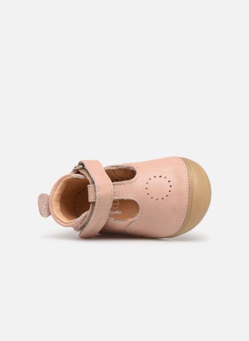 Pantofole Babybotte Zoela Beige immagine sinistra