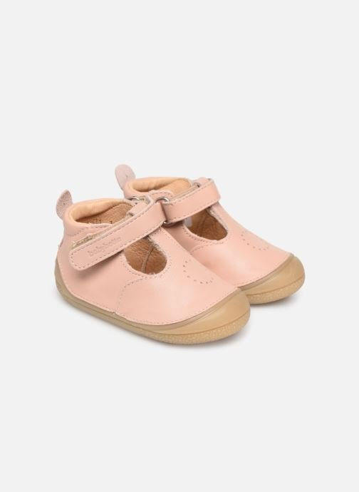 Slippers Babybotte Zoela Beige detailed view/ Pair view