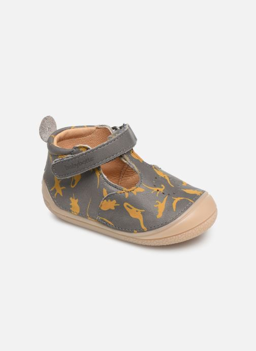 Pantoffels Babybotte Zoela Grijs detail