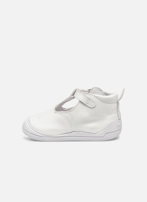 Chaussons Babybotte Zia Blanc vue face