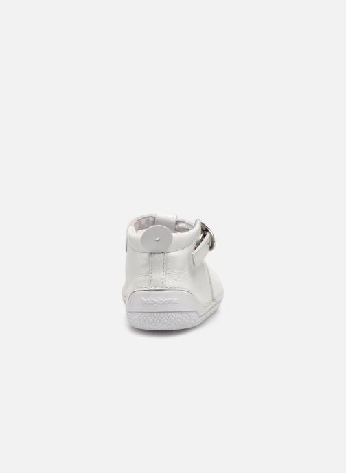 Pantofole Babybotte Zia Bianco immagine destra