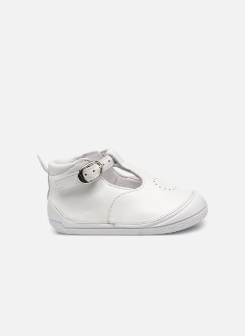 Pantofole Babybotte Zia Bianco immagine posteriore