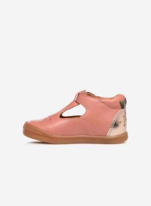 Ballerines Babybotte Papaya Rose vue face