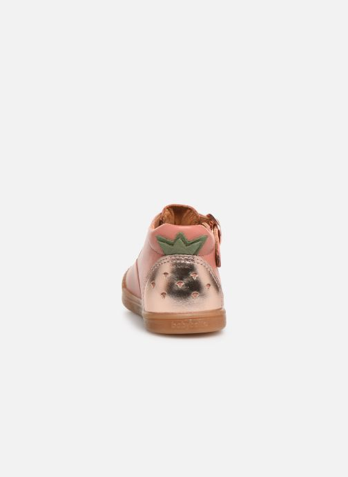 Ballet pumps Babybotte Papaya Pink view from the right