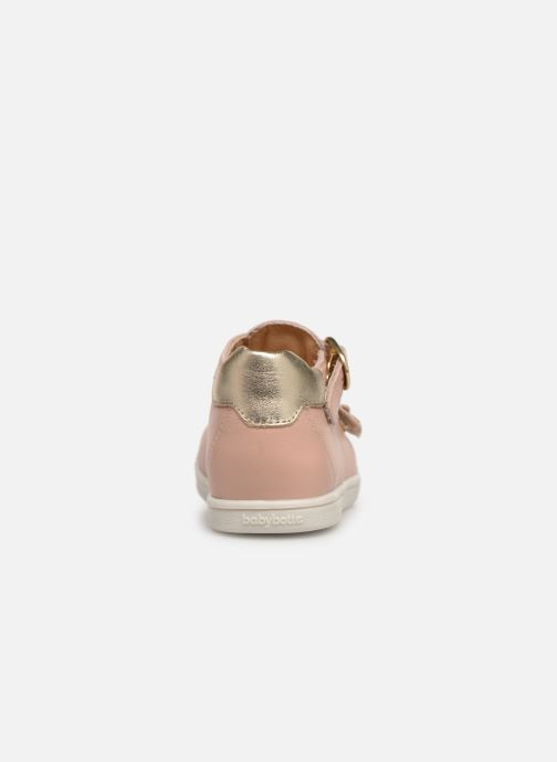 Ballet pumps Babybotte Puppy Beige view from the right
