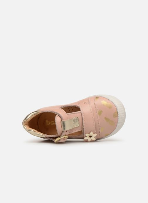 Ballet pumps Babybotte Puppy Beige view from the left