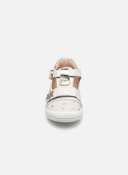 Ballerinas Babybotte Puppy weiß schuhe getragen