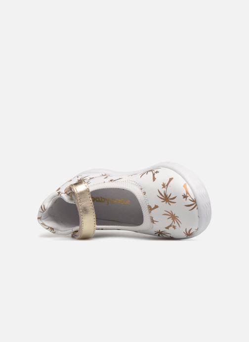 Ballerine Babybotte Sahara Bianco immagine sinistra