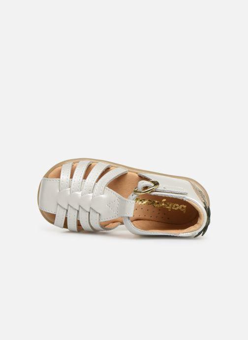 Sandales et nu-pieds Babybotte Guyana Blanc vue gauche