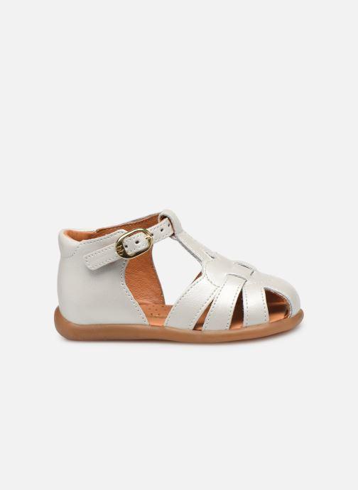 Sandales et nu-pieds Babybotte Gigi Blanc vue derrière