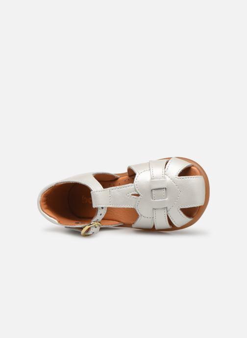 Sandales et nu-pieds Babybotte Gigi Blanc vue gauche