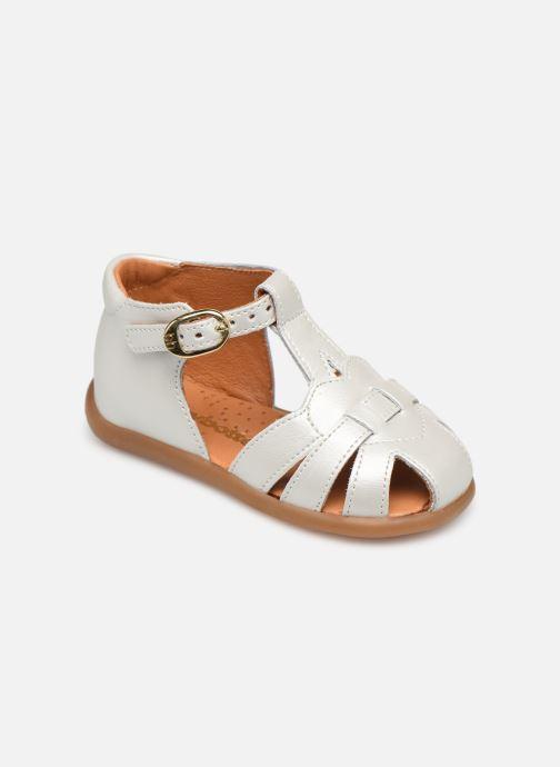 Sandales et nu-pieds Babybotte Gigi Blanc vue détail/paire