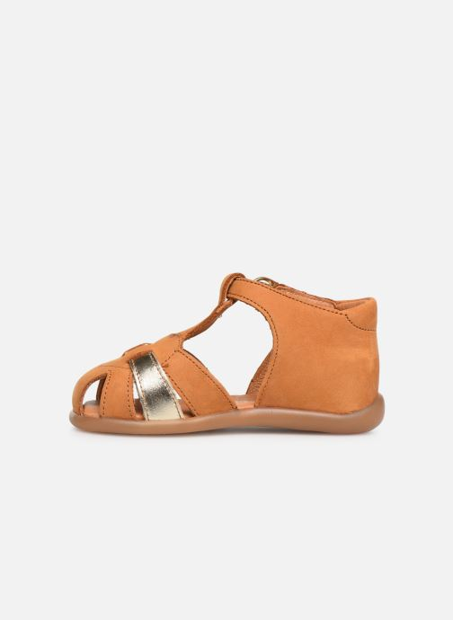 Sandales et nu-pieds Babybotte Gigi Marron vue face