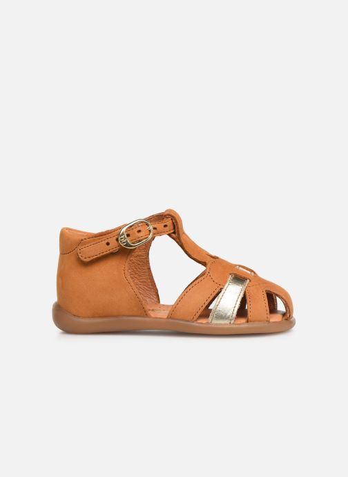 Sandales et nu-pieds Babybotte Gigi Marron vue derrière