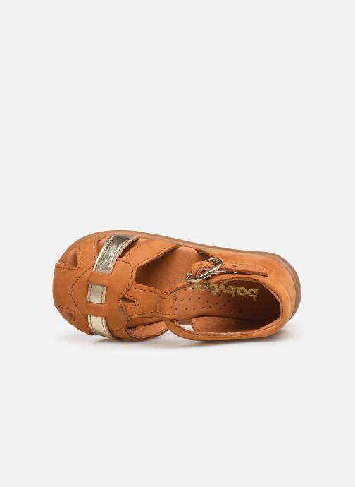 Sandales et nu-pieds Babybotte Gigi Marron vue gauche