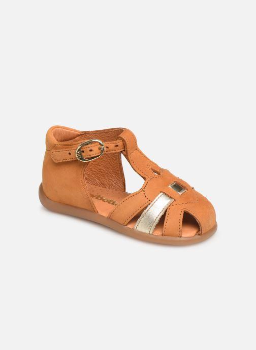 Sandales et nu-pieds Babybotte Gigi Marron vue détail/paire