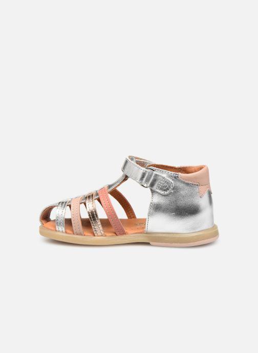 Sandales et nu-pieds Babybotte Teriyaki Argent vue face