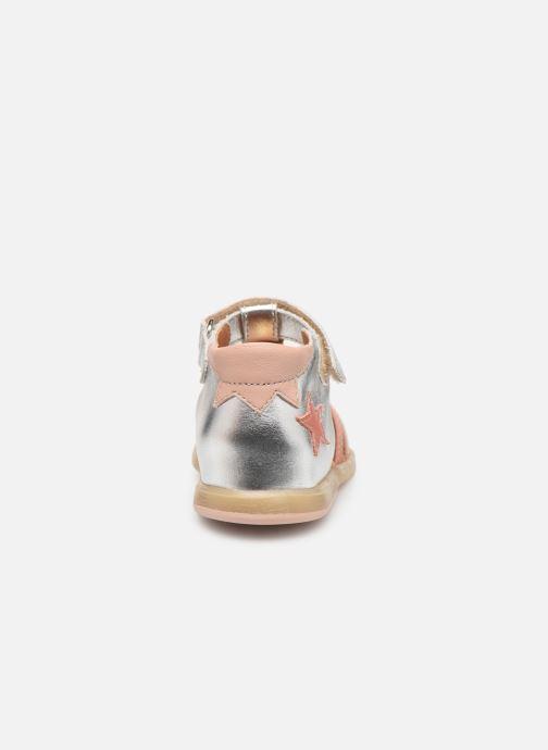 Sandales et nu-pieds Babybotte Teriyaki Argent vue droite