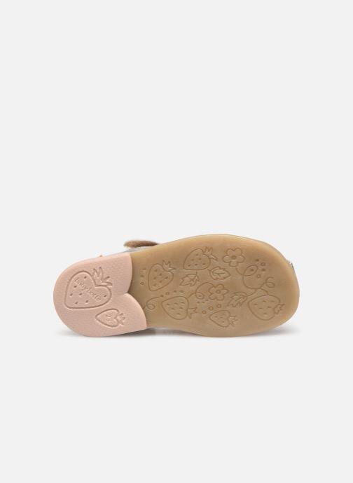Sandales et nu-pieds Babybotte Teriyaki Argent vue haut