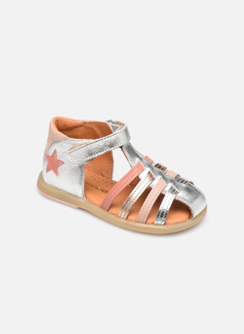 Sandales et nu-pieds Babybotte Teriyaki Argent vue détail/paire