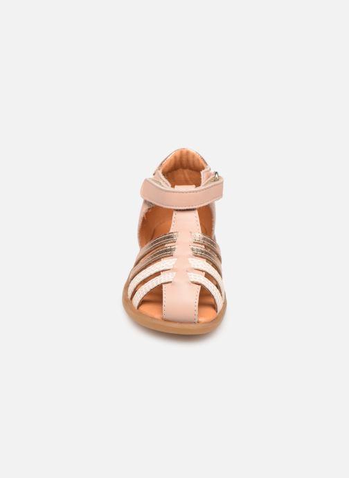 Sandales et nu-pieds Babybotte Teriyaki Rose vue portées chaussures