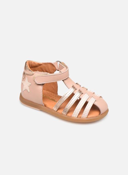 Sandales et nu-pieds Babybotte Teriyaki Rose vue détail/paire