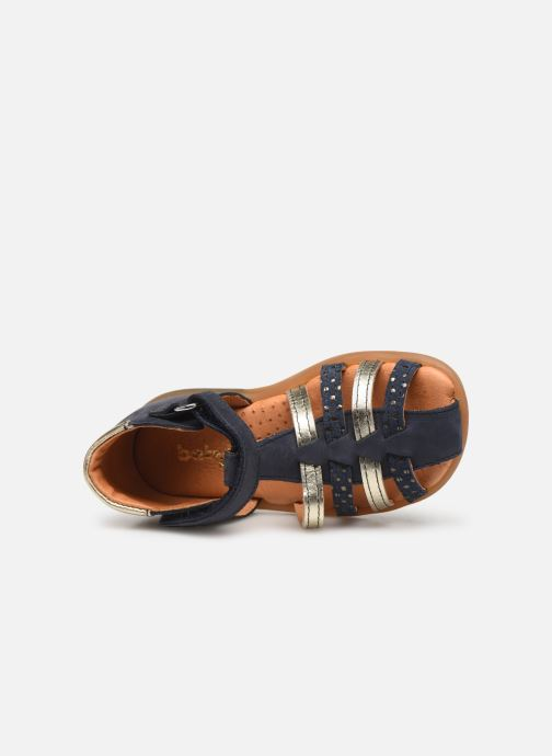 Sandalen Babybotte Teriyaki Blauw links