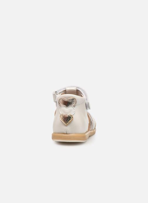 Sandalen Babybotte Teriyaki Wit rechts
