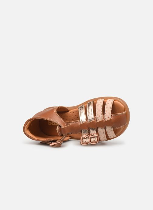 Sandales et nu-pieds Babybotte Twix Marron vue gauche