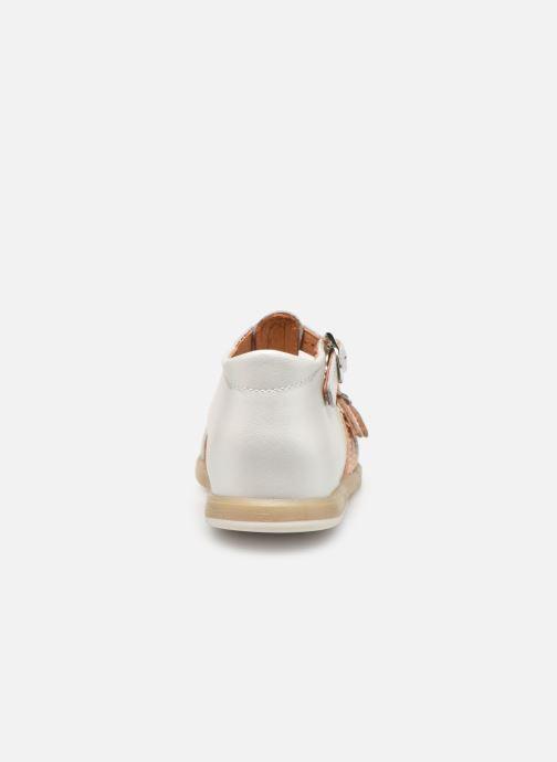 Sandales et nu-pieds Babybotte Twix Blanc vue droite